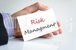 Risk Managment Concept