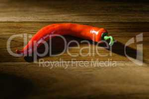 peperoni on wooden background