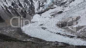 Slope of the Khumbu Glacier, Everest Base Camp