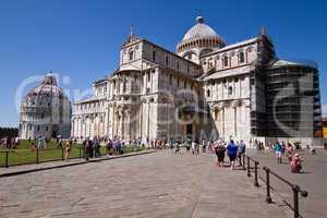 Piazza dei Miracoli, Platz der Wunder, Dom Santa Maria Assunta, Pisa