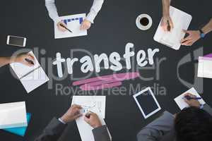 Transfer against blackboard