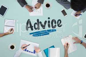 Advice against business meeting