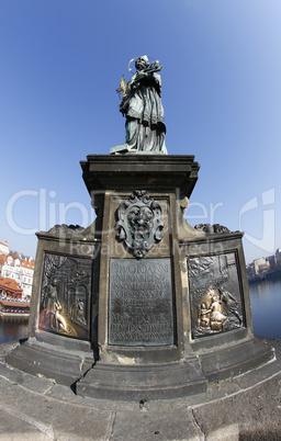 Statue of John of Nepomuk on Charles Bridge