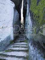 Bohemian Paradise - Rocks Stair - Narrow Path