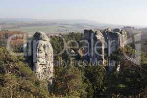 rock formations - Bohemian Paradise