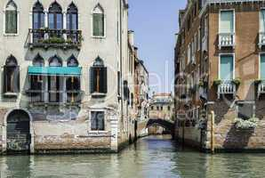 Ancient buildings in Venice