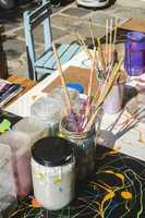 Paints and painting equipment