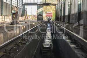 Depot repair trains