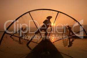 ASIA MYANMAR INLE LAKE