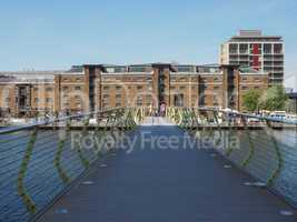 West India Quay in London
