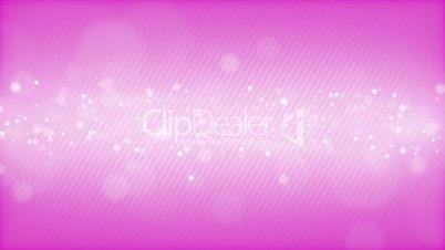 glowing bokeh circles pink loop background shallow DOF