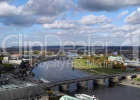 Elbe in Dresden