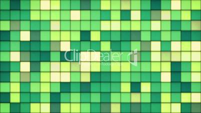 green tiles glass mosaic seamless loop background