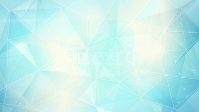futuristic light blue triangles pattern seamless loop