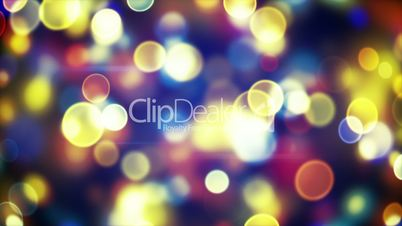 glowing circle bokeh lights loopable background