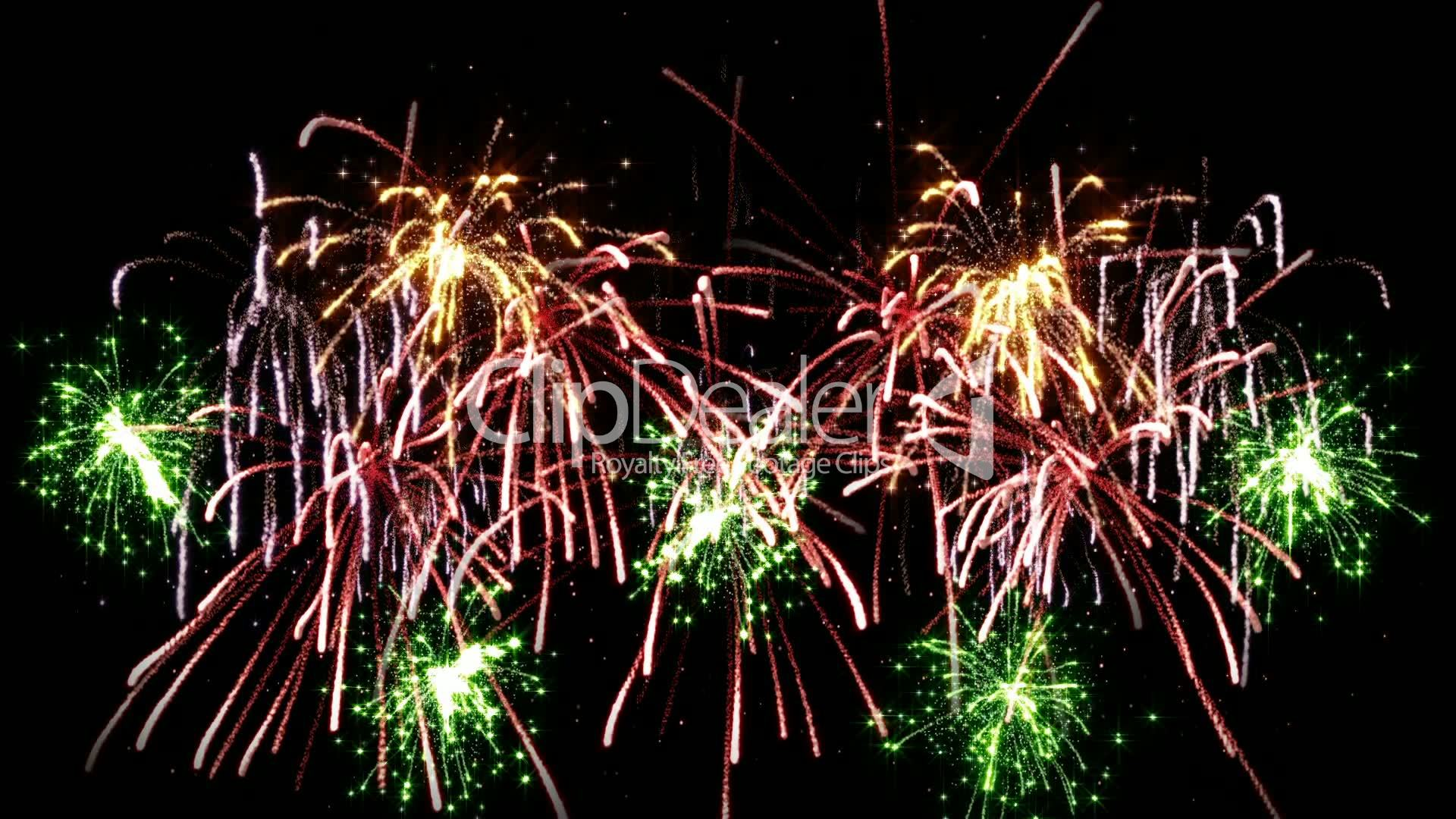 fireworks seamless loop: Royalty-free video and stock footage