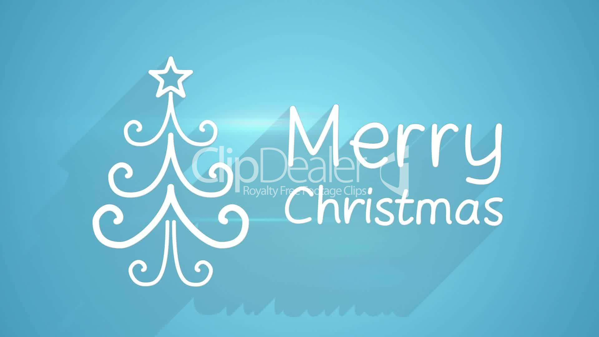 Merry christmas greeting last 5s loopable royalty free video and clips merry christmas greeting m4hsunfo