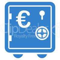 Safe euro icon from BiColor Euro Banking Set