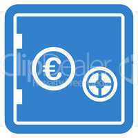 Safe icon from BiColor Euro Banking Set