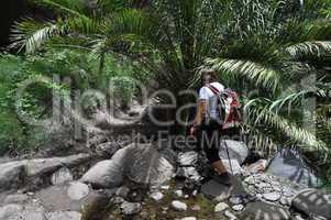 Wandern in der Masca-Schlucht, Teneriffa
