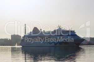 Cruise ships are visiting Kiel, Kiel, Germany