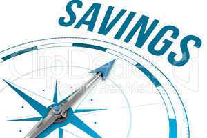 Savings  against compass