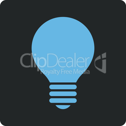 Bicolor Blue-Gray--electric bulb.eps