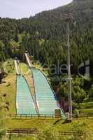 Skischanze Sprungschanze Sommer