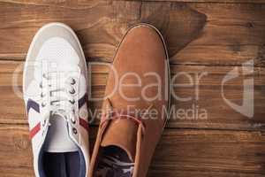Casual and dressy mens shoes