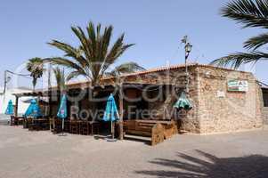 Gaststätte in Tuineje auf Fuerteventura