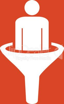 bg-Orange White--sales funnel.eps