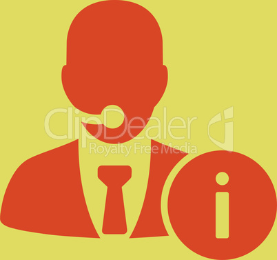 bg-Yellow Orange--help desk.eps