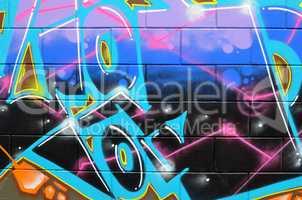 graffiti auf mauer