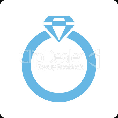 bg-Black Bicolor Blue-White--diamond ring.eps