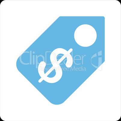 bg-Black Bicolor Blue-White--price tag.eps
