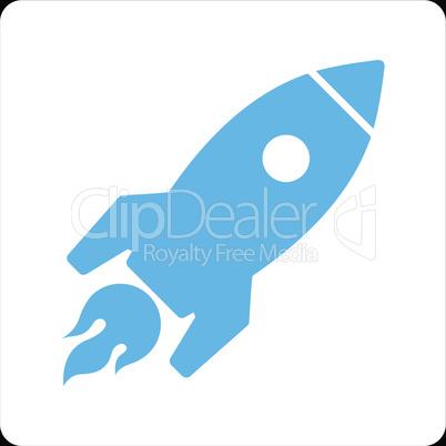 bg-Black Bicolor Blue-White--rocket launch.eps