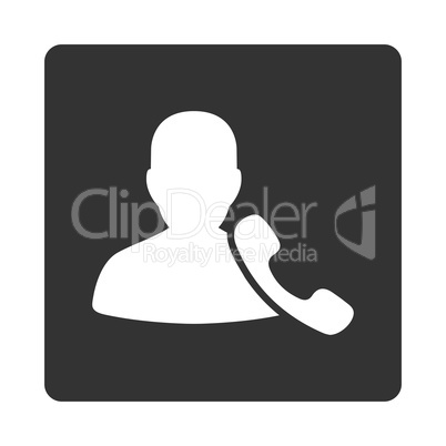 Phone Support Icon from Commerce Buttons OverColor Set
