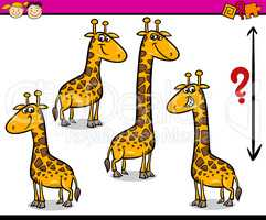 preschool task cartoon illustration
