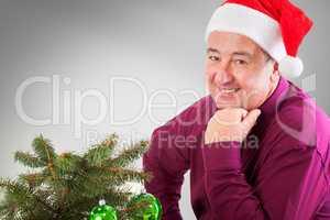 Men Portrait for Christmas