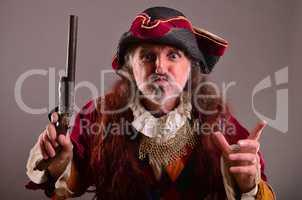 Pirate's grimace