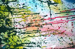 Abstract vintage grunge paint background