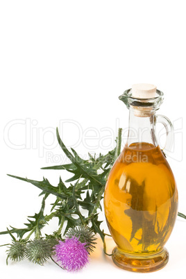 Öl aus Mariendistel