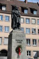 Dürer-Dekmal in Nürnberg
