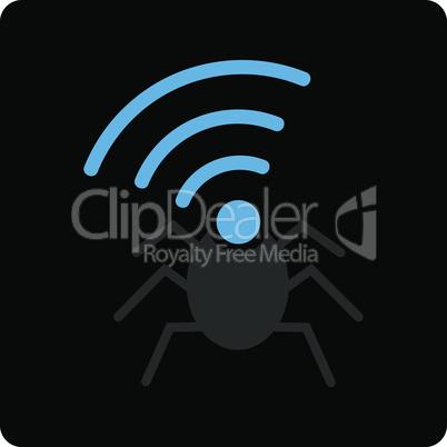 radio spy bug.eps