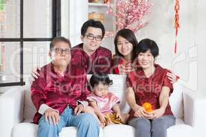 Chinese New Year with family