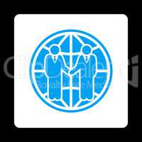 Global partnership icon