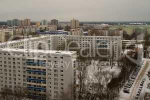 Plattenbau in Berlin