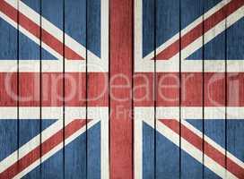 Grunge Flag Of United Kingdom Of Great Britain
