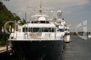 Yachthafen in Fort Lauderdale