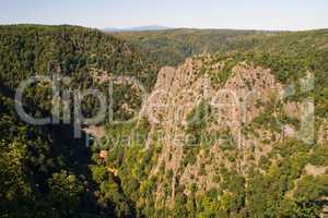 Roßtrappe Felsen Ausflugsziel Thale